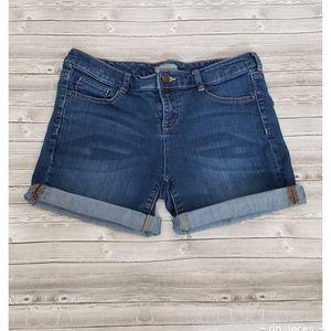 4 for $25 NY&CO midi denim jean shorts